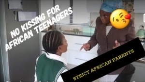 Video (Skit): Thenjiwe Comedy – African Parents and Teenagers Kissing